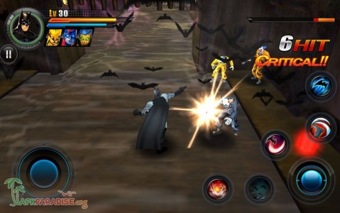 Justice League Earth's Final Defense Apk Mod